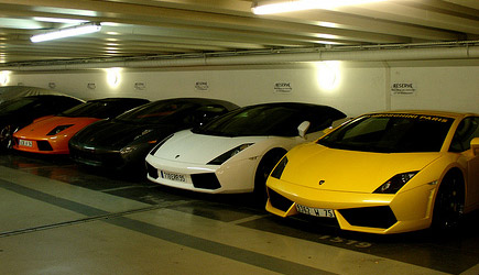 Free Lamborghini Parking
