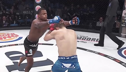 Bellator 186 - Crazy Knock Out, Tywan Claxton