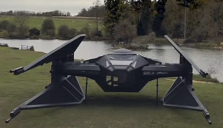 Colin Furze - I Build A Full Size Star Wars Tie Fighter