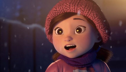 Animated Short - Lily And The Snowman