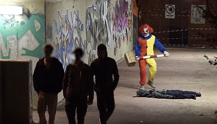 Killer Clown 11 Scare Prank - Fast & Lethal