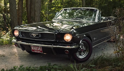 Petrolicious - 1966 Ford Mustang Convertible