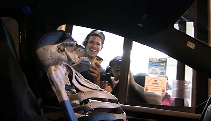 Magic Of Rahat - Best Of Drive Thru Skeleton Driver Prank