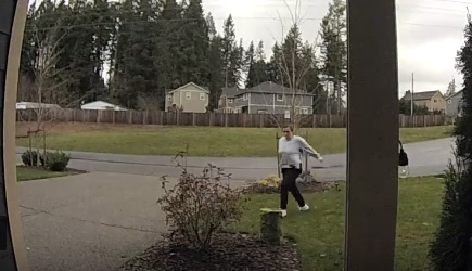 Package Thief Instant Karma