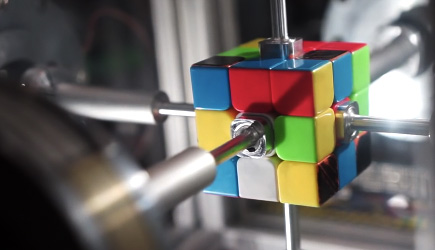 0.38 Second Rubik's Cube Solve