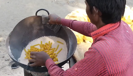 Sand 'Fried' Fries