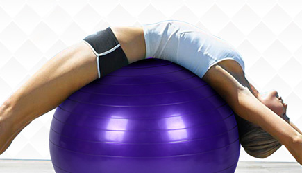 Exercise Ball Chest Bump Gone Wrong, Gymball, Fitnessbal