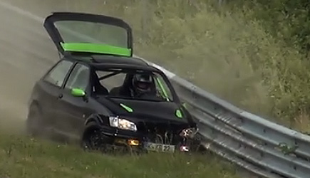 Nordschleife Top 15 Crashes 2012-2018