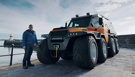 Top Gear - Avtoros Shaman 8x8