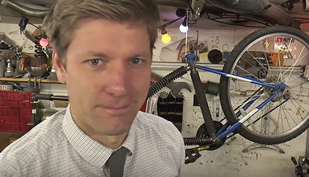 Colin Furze - Bicycle Of Springs