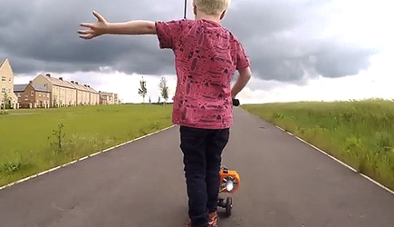 Colin Furze - Jet Powered Micro Scooter
