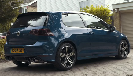 75 Year Old Built A 600HP VW Golf R
