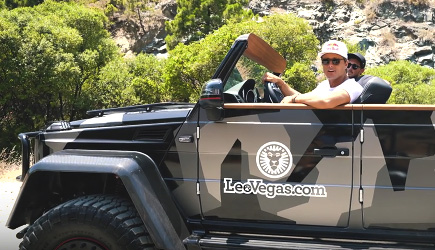 Jon Olsson - Roofless G Wagon, Mercedes
