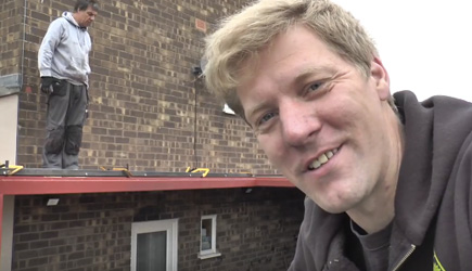 Colin Furze - Motorised Retractable Roof Project