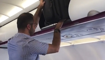 Luggage Doesn't Fit, Airplane