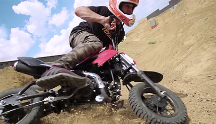 Dude Perfect - Dirt Bike Battle