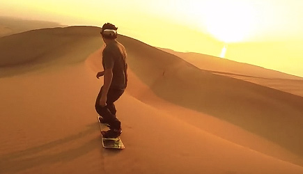 People Are Awesome - Sandboarding Tricks