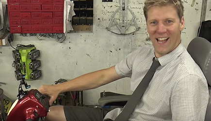 Colin Furze - Scooter Pimp #3