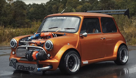 Insane Turbocharged 360HP Classic Mini