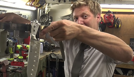 Colin Furze - 1000RPM Spinning Belt Of Knives