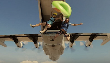 Devin Supertramp - Slip & Slide Out Of An Airplane