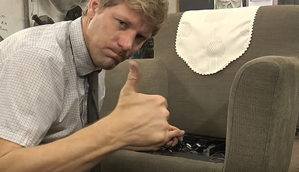 Colin Furze - Mr Beans Remote Controlled Arm Chair