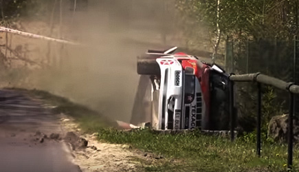 Legend Rally Cars Crash Compilation 2018