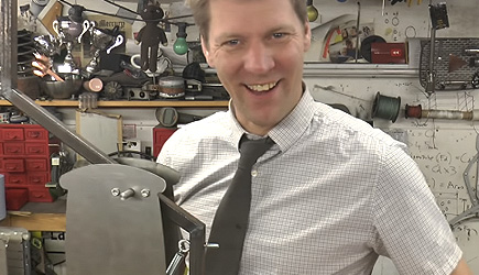Colin Furze - The Catapult Toaster