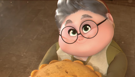 Animated Short - Grandma's Pie