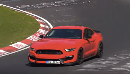 Nurburgring Nordschleife Ford Mustang Shelby 350 Crash