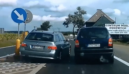 Best Of Dashcams - Bad Driving In Europe (126)