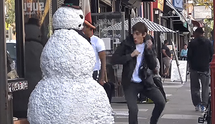 Scary Snowman Classic Reactions (2)