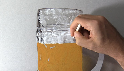 Marcello Barenghi - Drawing Realistic Beer Glass
