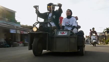 Indonesia's Tricked Out Vespas
