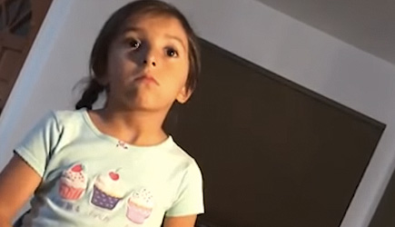 Little Girl Teaches Dad How To Be Nice
