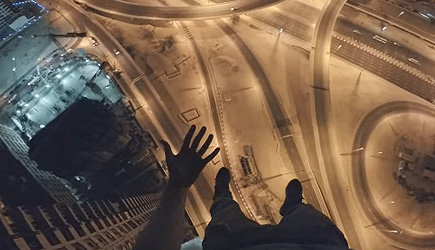 James Kingston - Hanging out over Dubai