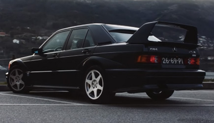 Petrolicious - 1990 Mercedes-Benz 190 E 2.5-16 Evolution II