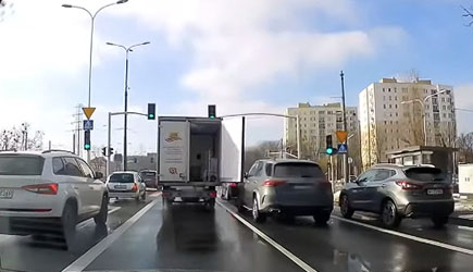Best Of Dashcams - Bad Driving in Poland 588