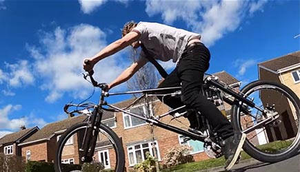 Colin Furze - Bicycle of Hydraulics