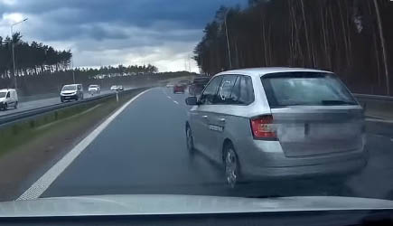 Best Of Dashcams - Bad Driving in Poland 632