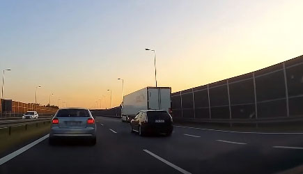 Best Of Dashcams - Bad Driving in Poland 664